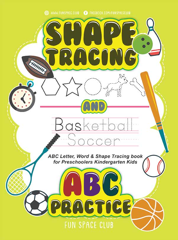 shape tracing book for preschoolers