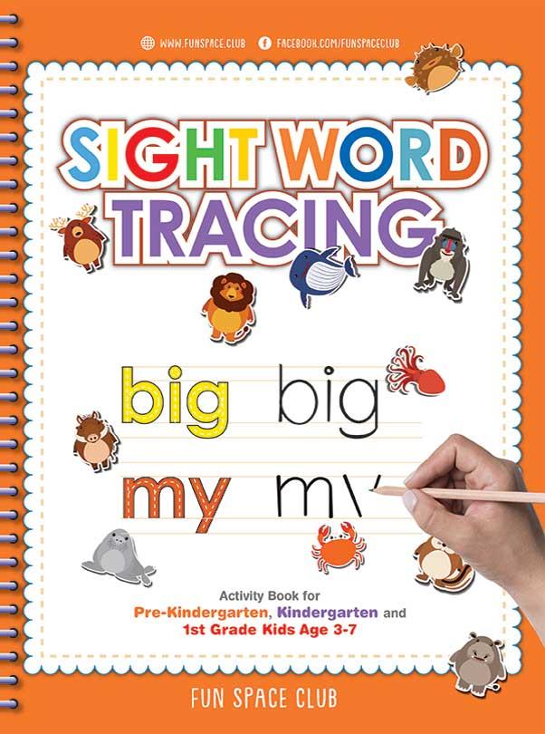 sight word activity book for kindergarten
