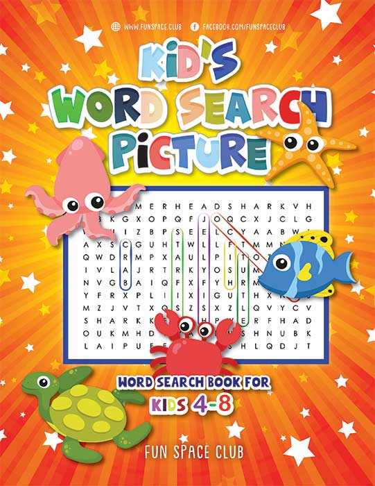 word search book for kids 4-8