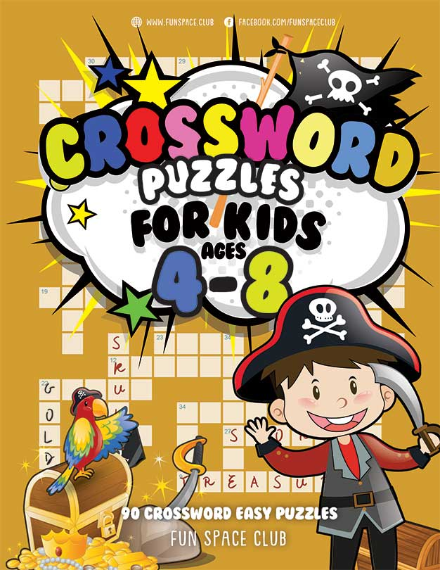 crossword puzzle for kids ages 4-8