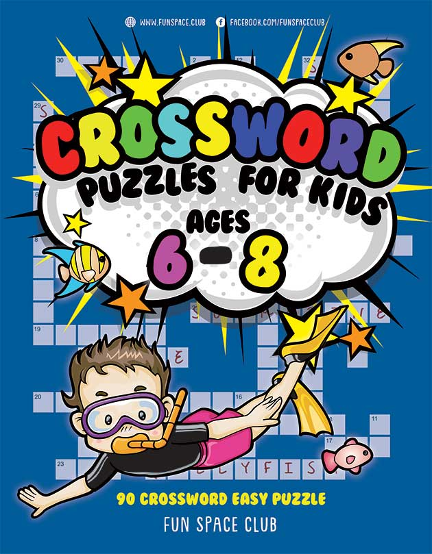 crossword puzzles for kids age 6-8