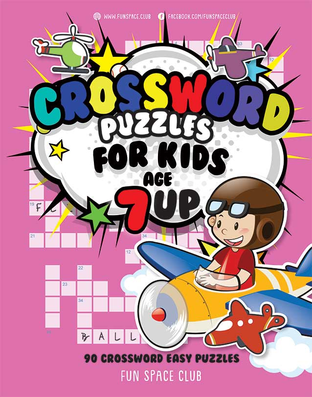 crossword puzzle for kids age 7 up